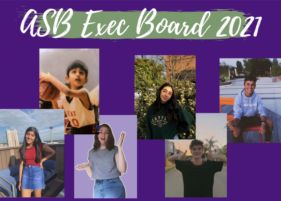 Get to Know the 2021 ASB Exec Board