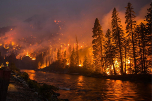 Climate Fires Foreshadow Earth's Future
